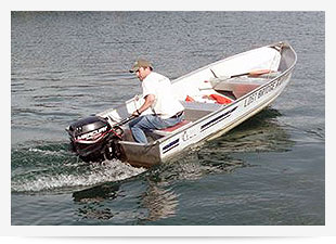 Fishing Boat Rentals at Summer Breeze Resorts