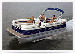 Pontoon Boat Rentals at Summer Breeze Resorts